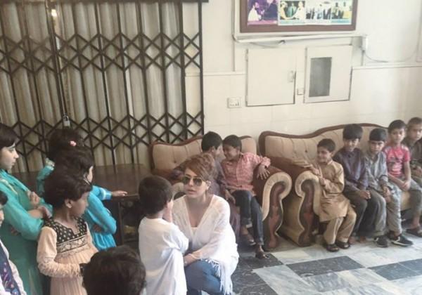 Ayyan Ali visited Edhi foundation Islamabad 3