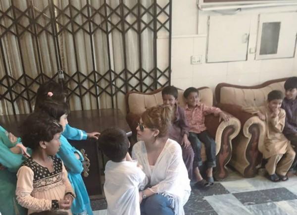 Ayyan Ali visited Edhi foundation Islamabad 5