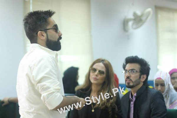 Ayyan Ali visited University of Karachi as guest of Honour (10)