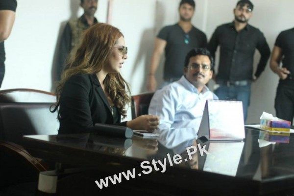 Ayyan Ali visited University of Karachi as guest of Honour (14)