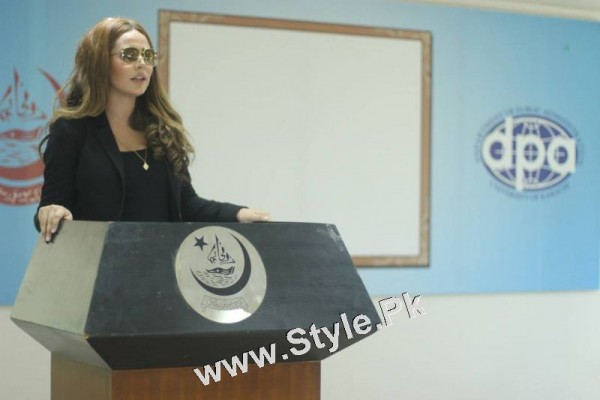 Ayyan Ali visited University of Karachi as guest of Honour (4)