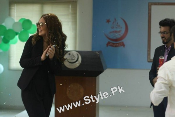 Ayyan Ali visited University of Karachi as guest of Honour (9)