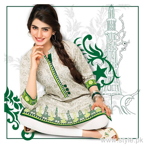 Bonanza Jashn-e-Azaadi Collection 2015 For Girls 2