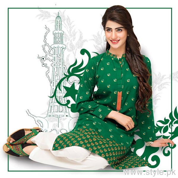 Bonanza Jashn-e-Azaadi Collection 2015 For Girls 7