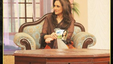 See Bushra Ansari's first appearance as Morning show host on GEO TV