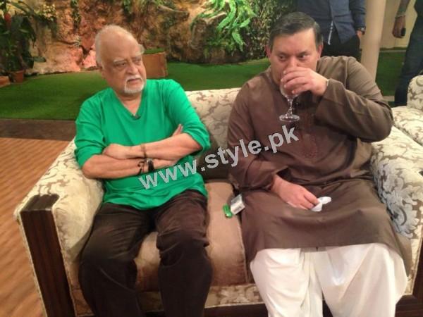 Bushra Ansari's first appearance as Morning show host on GEO TV (3)