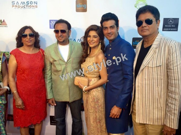 Cast of Karachi se Lahore in Hollywood (11)