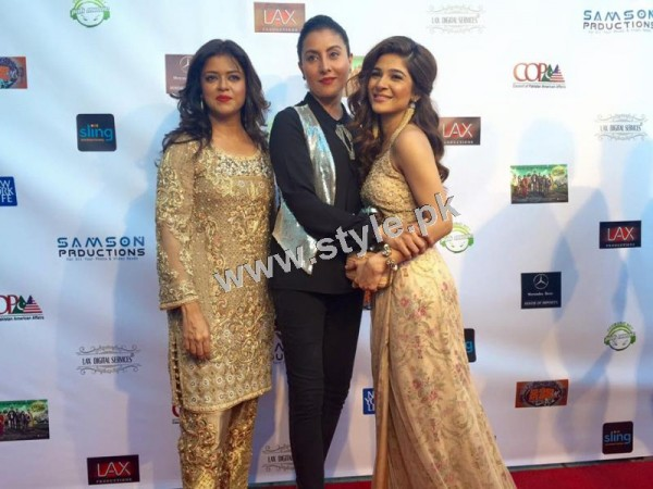 Cast of Karachi se Lahore in Hollywood (6)
