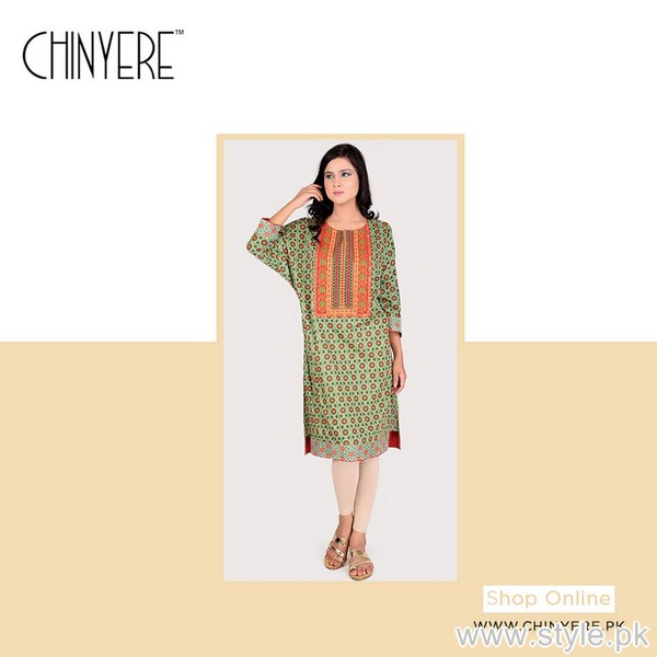 Chinyere Casual Wear Kurtis 2015 For Summer 1