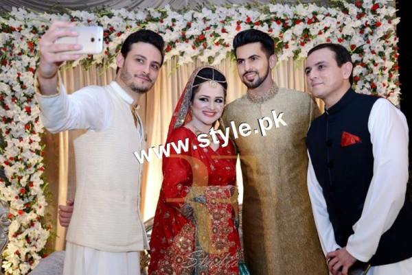 Complete Wedding pictures of Anchor Mukkaram Kaleem 16