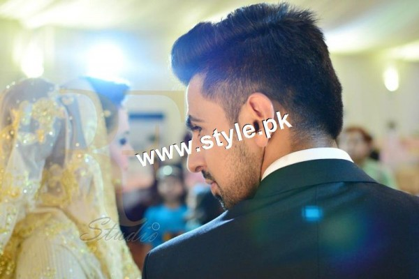 Complete Wedding pictures of Anchor Mukkaram Kaleem 19
