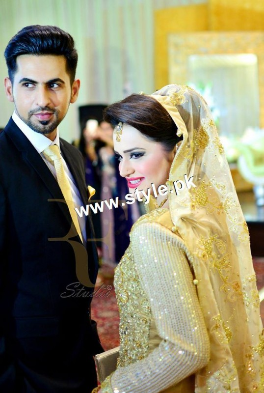 Complete Wedding pictures of Anchor Mukkaram Kaleem 21