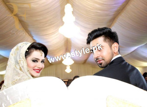Complete Wedding pictures of Anchor Mukkaram Kaleem 22