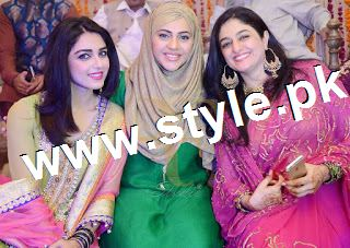 Complete Wedding pictures of Anchor Mukkaram Kaleem 4