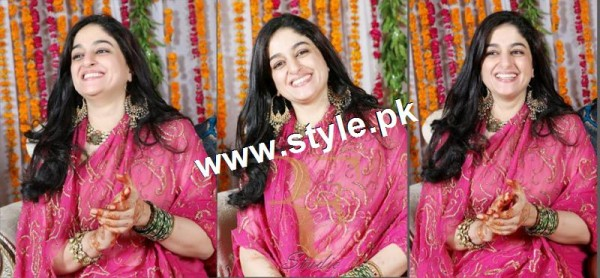 Complete Wedding pictures of Anchor Mukkaram Kaleem