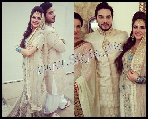 See Fatima Effendi and Kanwar Arsalan are appearing as couple in a TVC