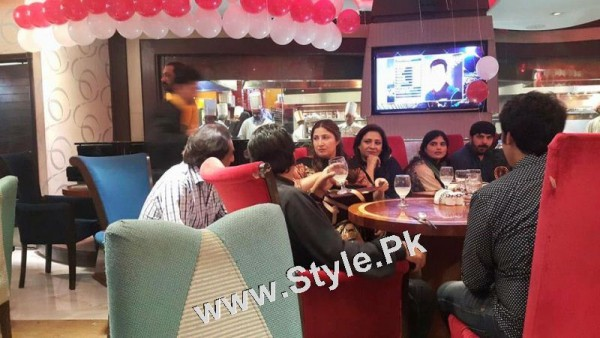 See Film Star Saima Noor's Birthday Celebrations