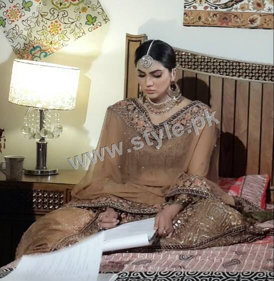 Fiza Ali on shooting of her upcoming drama (3)
