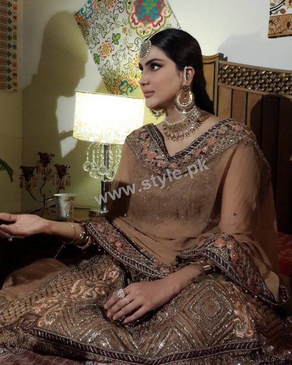 Fiza Ali on shooting of her upcoming drama (4)