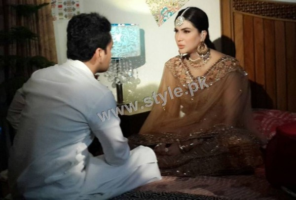 Fiza Ali on shooting of her upcoming drama