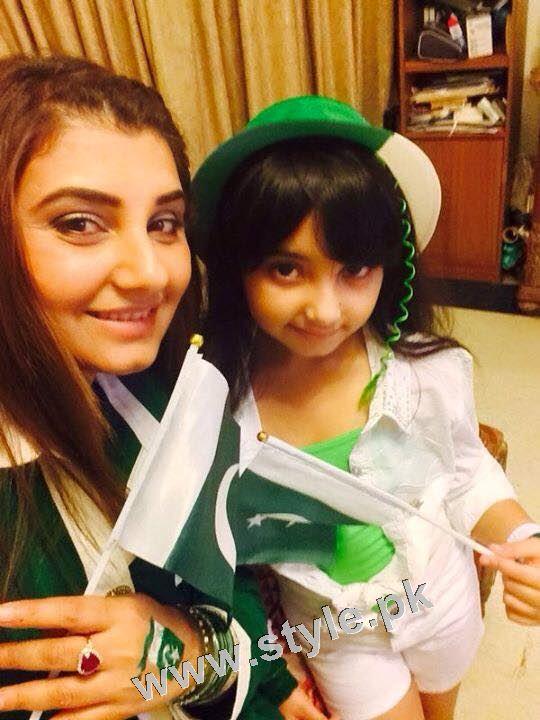 Javeria Saud goes green with her kids 11