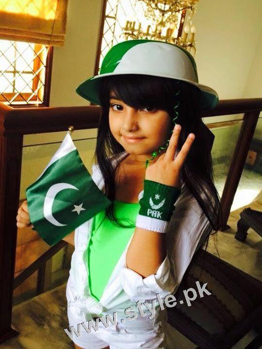 Javeria Saud goes green with her kids 6