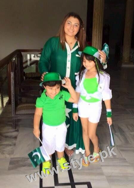 Javeria Saud goes green with her kids 8