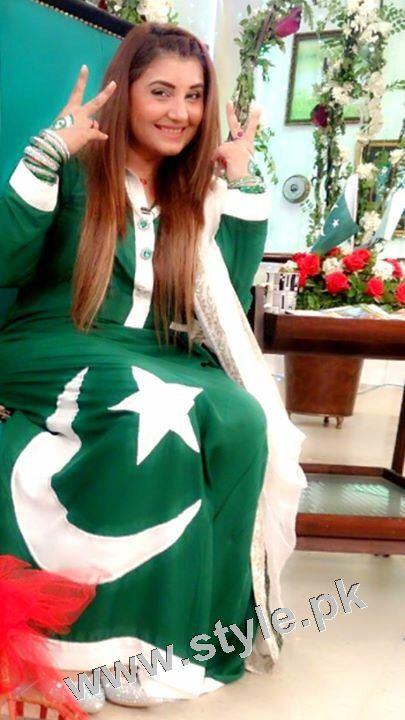 Javeria Saud goes green with her kids 9