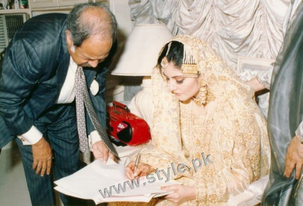 Late Nazia Hassan's Wedding Pictures  (20)