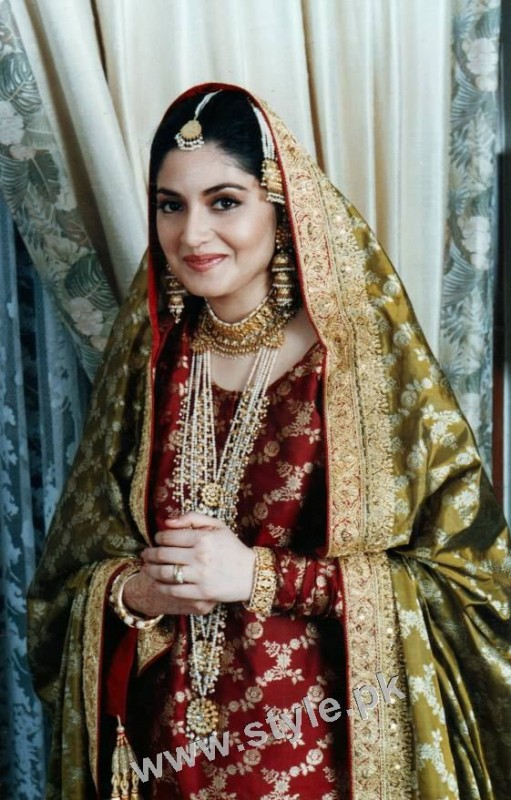 Late Nazia Hassan's Wedding Pictures  (5)
