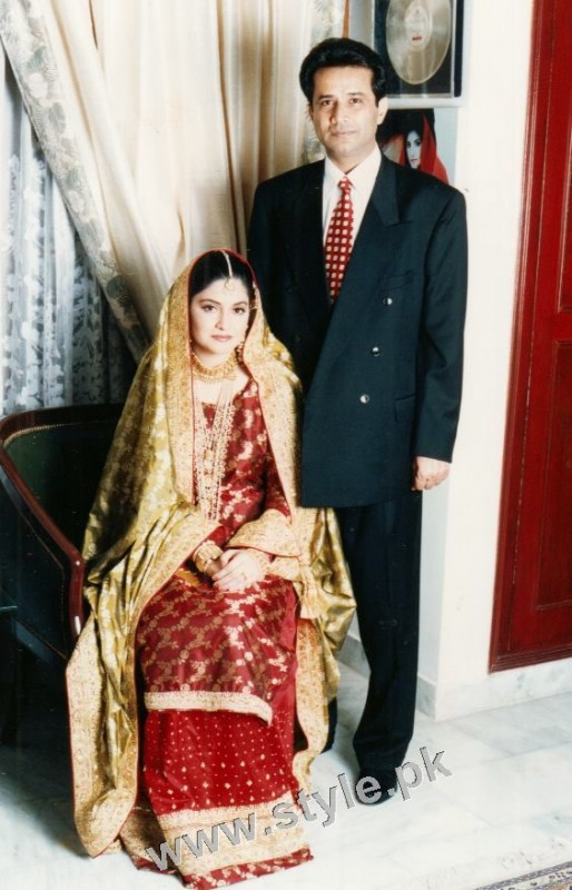 Late Nazia Hassan's Wedding Pictures  (6)