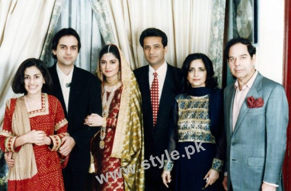 Late Nazia Hassan's Wedding Pictures  (9)