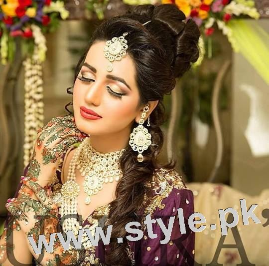 Latest looks of Anum Fayyaz for Bushra's Salon 2