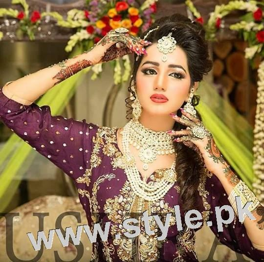 Latest looks of Anum Fayyaz for Bushra's Salon 3