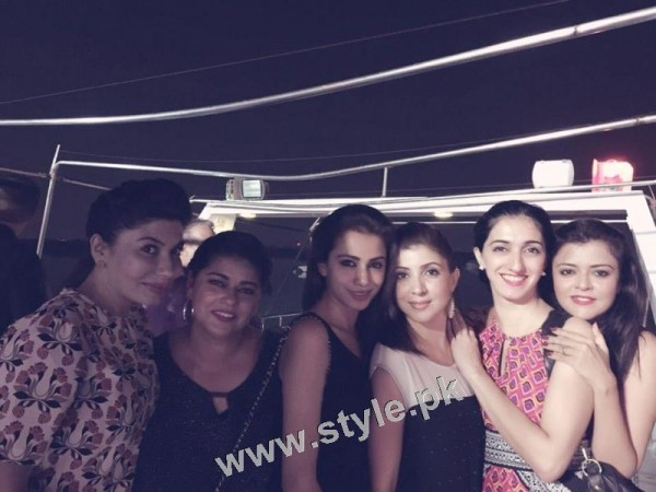 Maria Wasti's surprise birthday party 6)