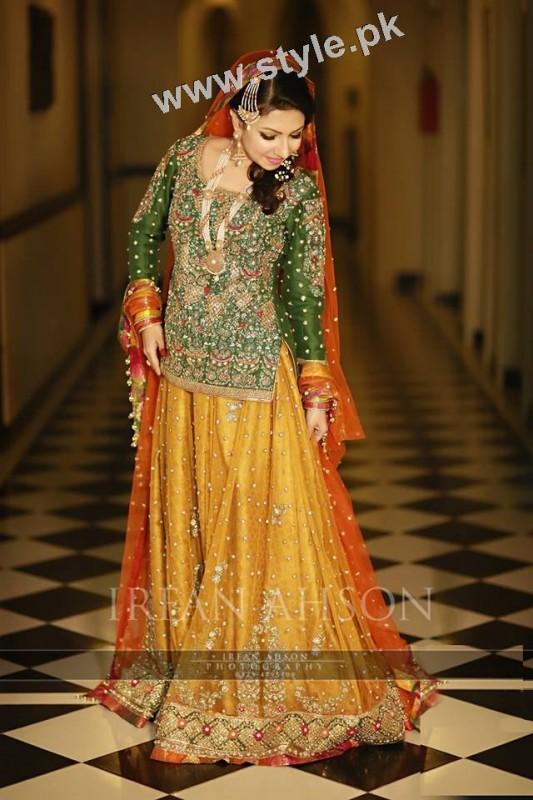 Mehndi outfits 2015 to wear on your big day (11)