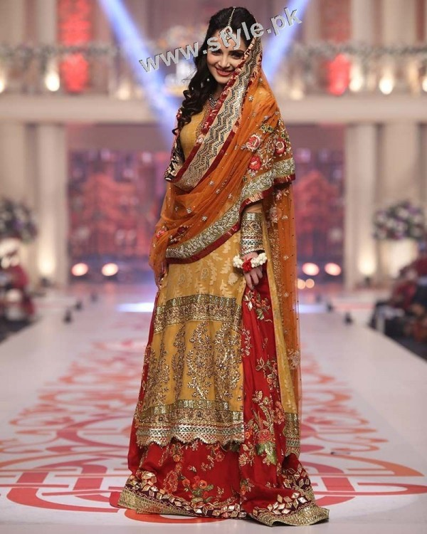 Mehndi outfits 2015 to wear on your big day (8)