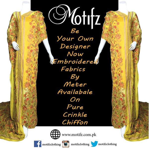 Motifz Party Wear Collection 2015 For Women008
