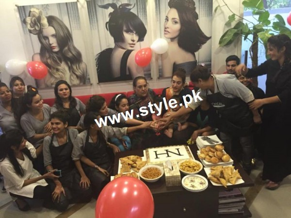 Nadia Hussain Celebrated first anniversary of Nadia Hussain Salon (5)