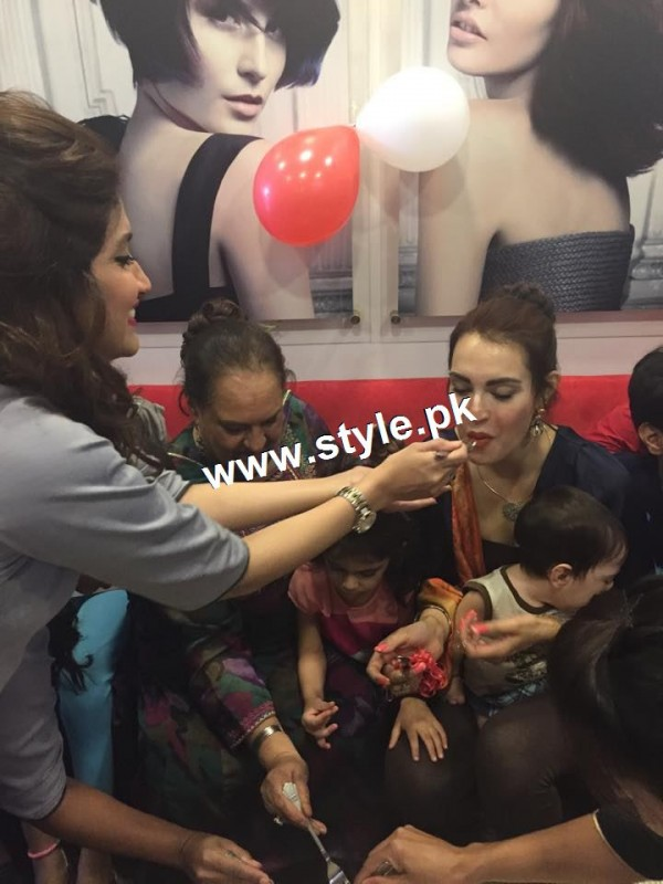 See Nadia Hussain Celebrated first anniversary of Nadia Hussain Salon