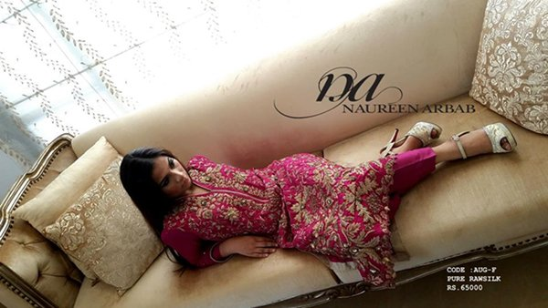 Naureen Arbab Formal Wear Collection 2015 For Women0016