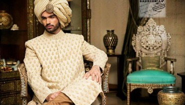 Naushemian By Nauman Arfeen Sherwani Collection 2015 For Men