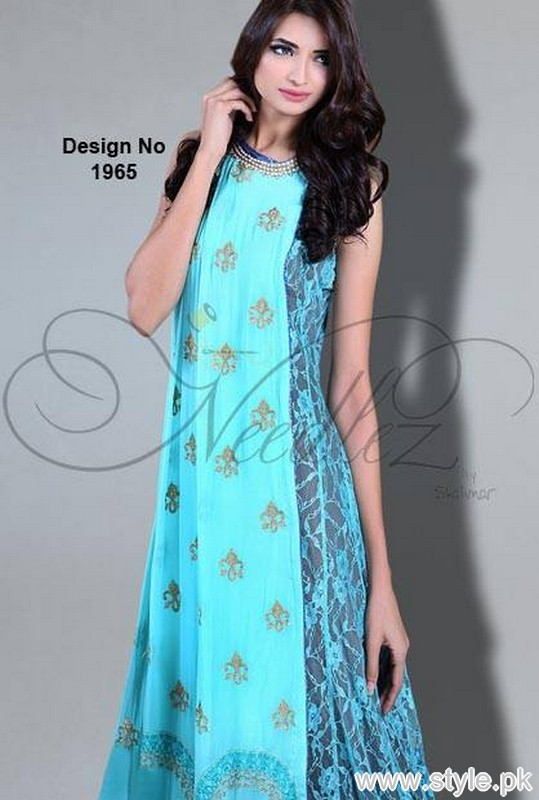 Needlez by Shalimar Eid-Ul-Azha Collection 2015 for Women 2