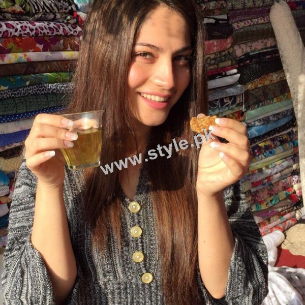Neelum Muneer is enjoying shooting of Ramla in Murree (3)