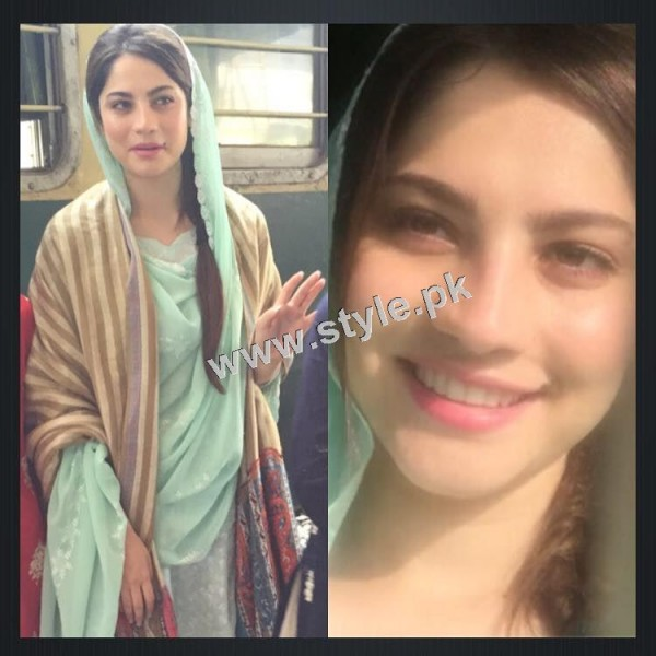 Neelum Muneer is enjoying shooting of Ramla in Murree (5)