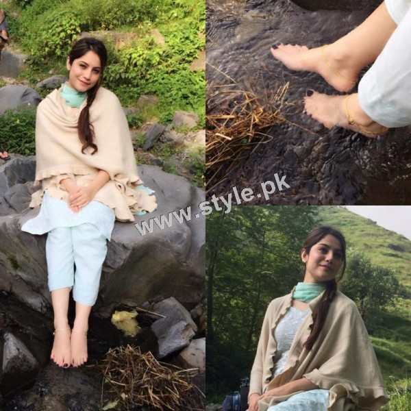 Neelum Muneer is enjoying shooting of Ramla in Murree (6)