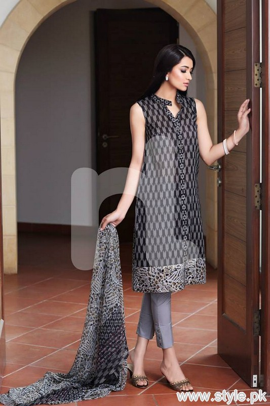 Nishat Linen Saavan Collection 2015 For Summer 9