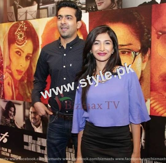 Pakistani Celebrities on the red carpet of MANTO 10