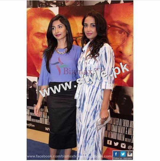 Pakistani Celebrities on the red carpet of MANTO 11