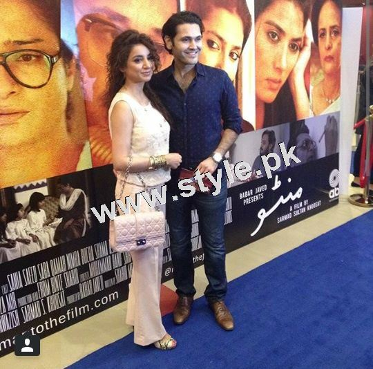 Pakistani Celebrities on the red carpet of MANTO 6